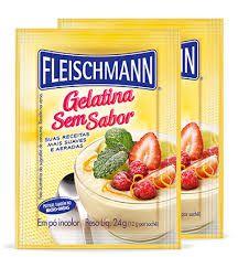 Gelatina Sem Sabor Fleischmann 24g