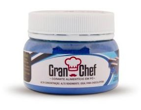 Corante para Chocolate Hidrossolúvel Azul Gran Chef 5g