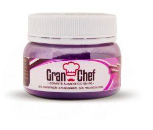Corante para Chocolate Hidrossolúvel Roxo Gran Chef 5g