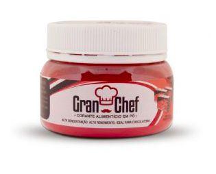 Corante para Chocolate Hidrossolúvel Vermelho Gran Chef 5g