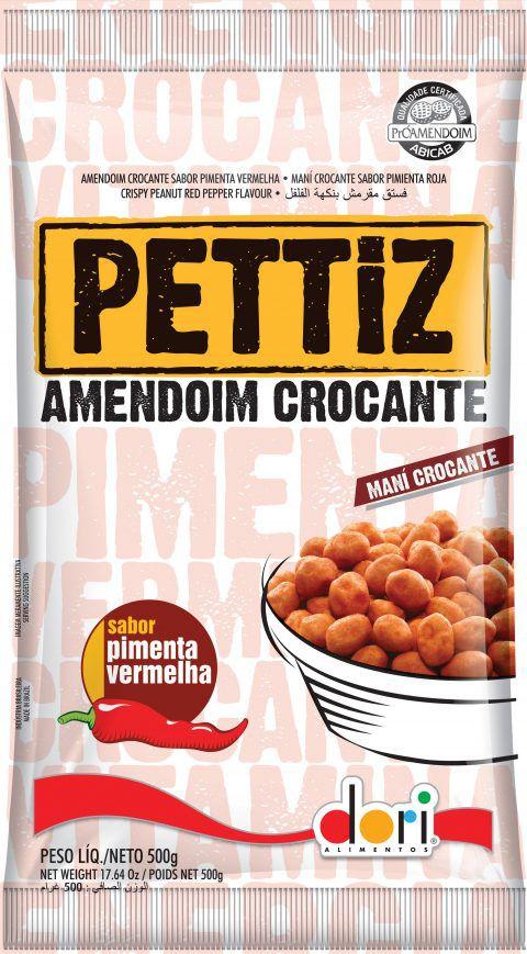 Amendoim Pettiz Pimenta Vermelha Dori 500g