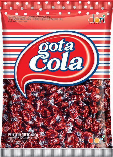 Bala Gota Cola Dori 600g