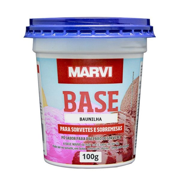 Base Baunilha Marvi 100g