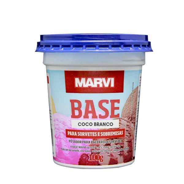 Base Coco Branco Marvi 100g