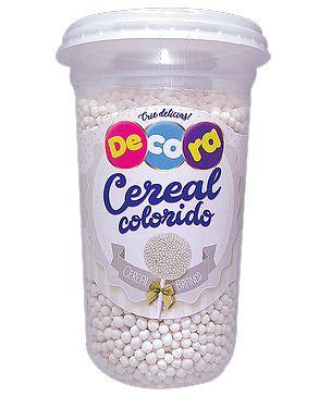 Cereal Decora Branco Cacau Foods 160g