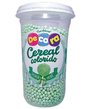 Cereal Decora Verde Bebê Cacau Foods 160g
