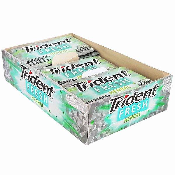 Chiclete Trident Herbal Fresh Mondelez 5S 168g