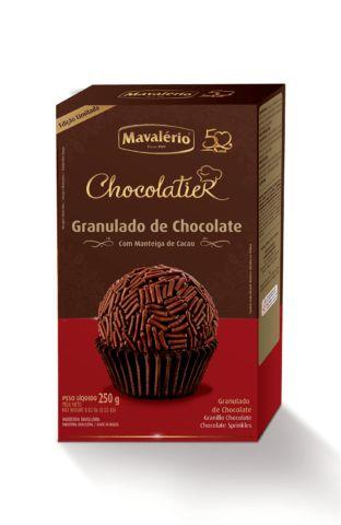 Granulado Chocolatier Mavalério 250g