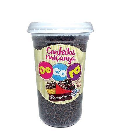 Confeito Decora Brigadeiro Cacau Foods 260g