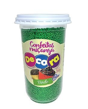 Confeito Decora Vermelho Cacau Foods 260g
