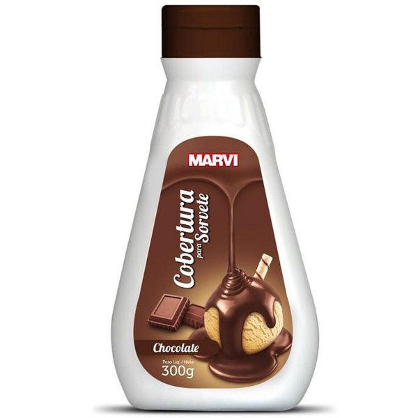 Cobertura Sorvete Chocolate Marvi 300g