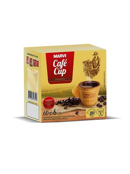 Café Cup Crocante Marvi 6 unid