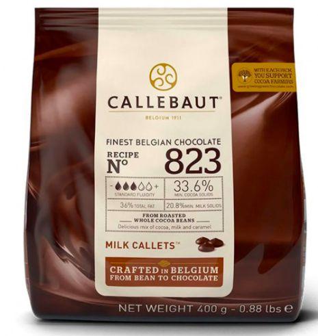 Chocolate ao Leite 33.6% Cacau Gotas 823 Callebaut 400G