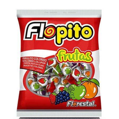 Pirulito Flopito Frutas Forestal 400g