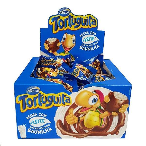 Chocolate Tortuguita Ao Leite Baunilha Arcor 432g