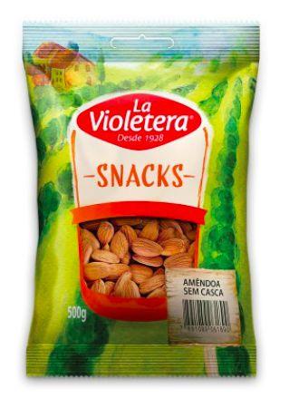 Amendoa sem casca La Violetera 500g