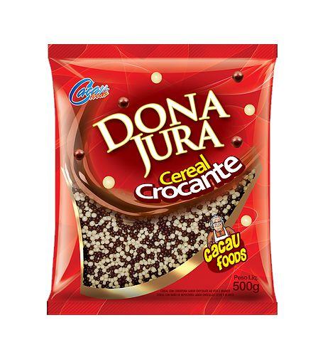 Cereal Micro Mesclado Dona Jura Cacau Foods 500g