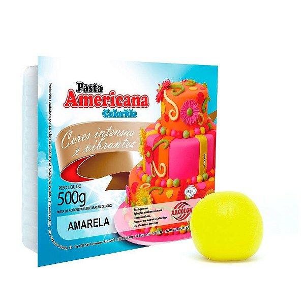 Pasta Americana Amarela Arcolor 500g
