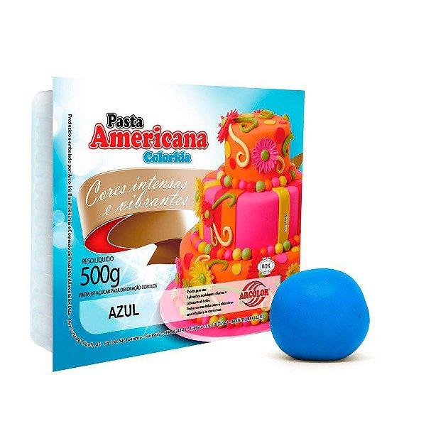 Pasta Americana Azul Arcolor 500g