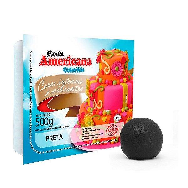 Pasta Americana Preta Arcolor 500g