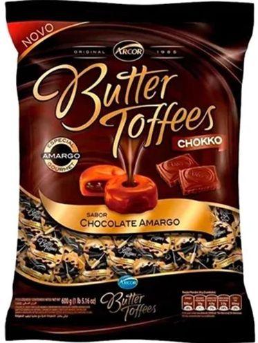 Bala Butter Toffees Chocolate Meio amargo 600g