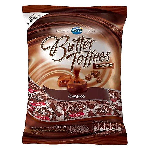 Bala Butter Toffees Chokko Arcor 600g