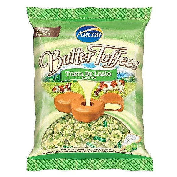 Bala Butter Toffees Torta de Limão Arcor 600g
