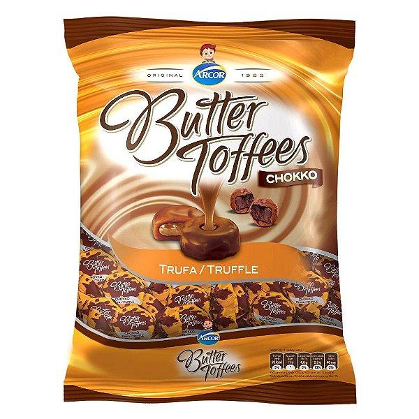 Bala Butter Toffees Trufa Arcor 600g