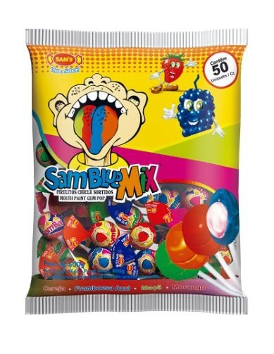 Pirulito Samblue Mix SAMS 600G