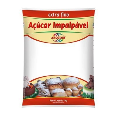 Açúcar Impalpável Extra Fino Arcolor 1kg