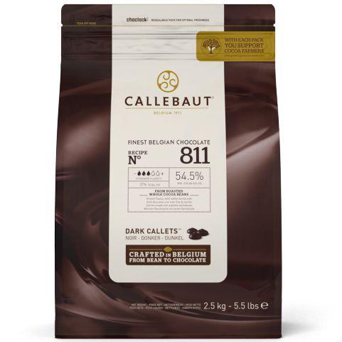 Chocolate Meio Amargo 54,5% Gotas Callebaut 1kg