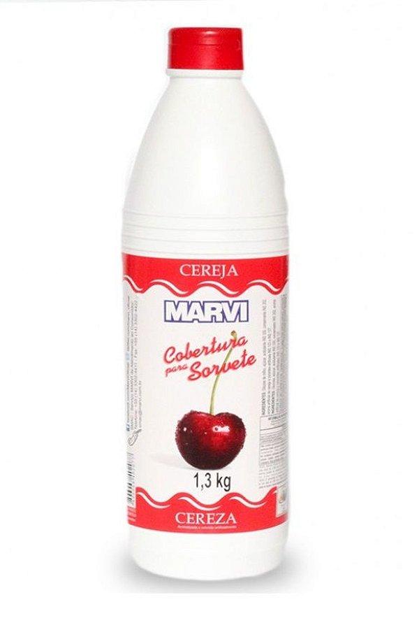 Cobertura Sorvete Cereja Marvi 1,3kg