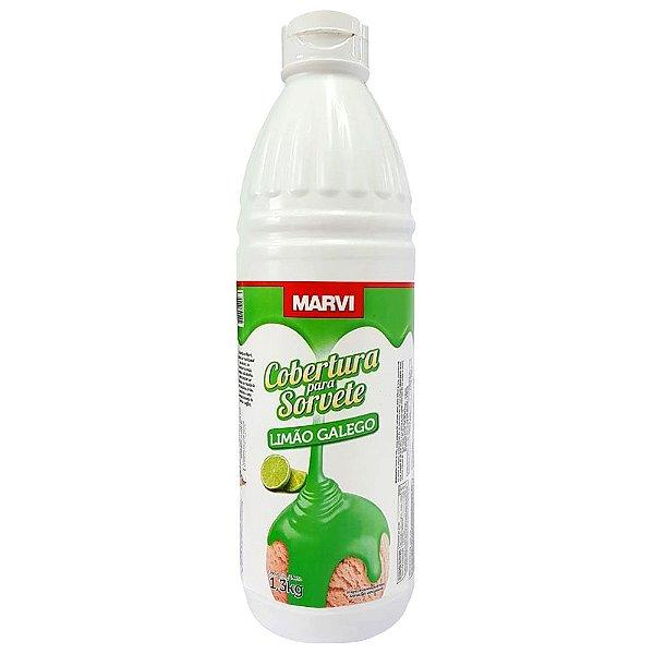 Cobertura Sorvete Limão Galego Marvi 1,3kg