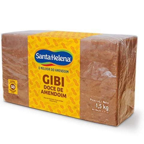 Doce de Amendoim Gibi Santa Helena 1,5kg