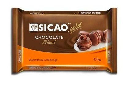 Chocolate Gold Blend Barra Sicao 2,1kg