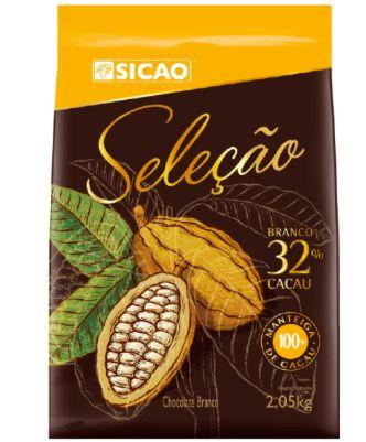 Chocolate Seleção Branco 32% Sicao 2,05kg