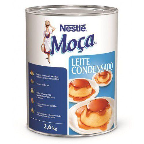 Leite Condensado Moça Nestlé 2,6Kg