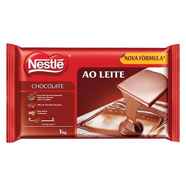Chocolate em barra Ao Leite Nestlé 1kg - 10/12