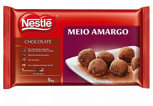 Chocolate em barra Meio Amargo Nestlé 1kg