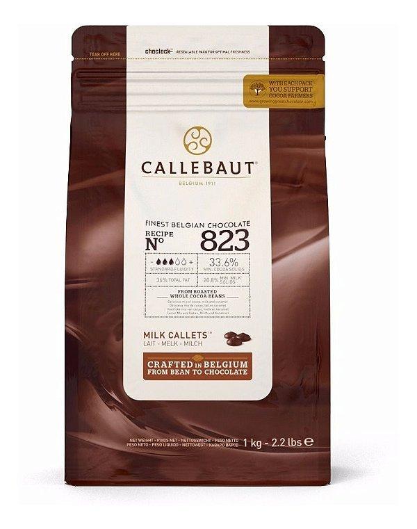 Chocolate Ao Leite 33,6% Cacau Gotas Callebaut 1kg