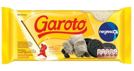 Chocolate Tablete Negresco Garoto 90g