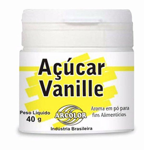 Açúcar Vanille Arcolor 40g
