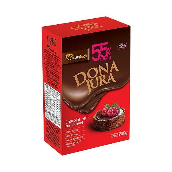 Chocolate em Pó 55% Dona Jura Cacau Foods 200g