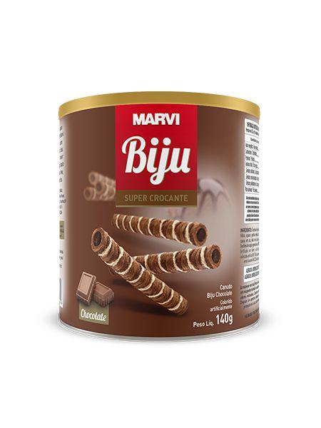Canudinho Biju Chocolate Marvi 140g
