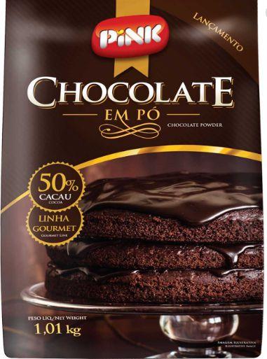 Chocolate em pó 50% Cacau Alnutri PINK 1,01kg