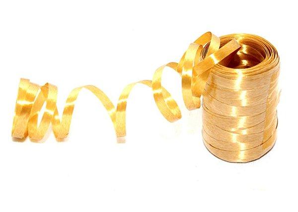 Fitilho Amarelo Ouro Aquarela 50m