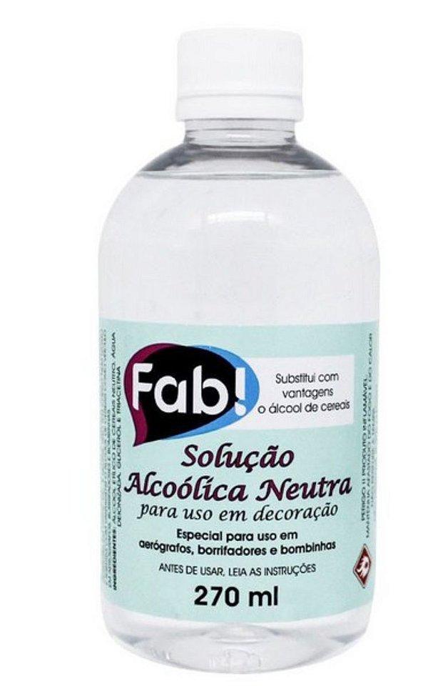 Álcool Etílico de Cereais Fab 270ml