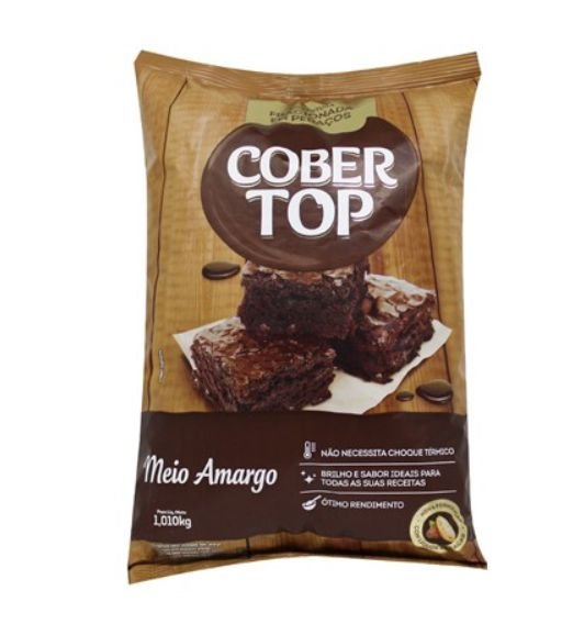 Cobertura Meio Amargo Cober Top 1,01kg