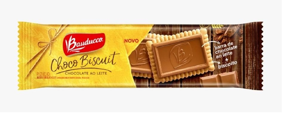 Chocco Biscuit Ao Leite Bauducco 80g