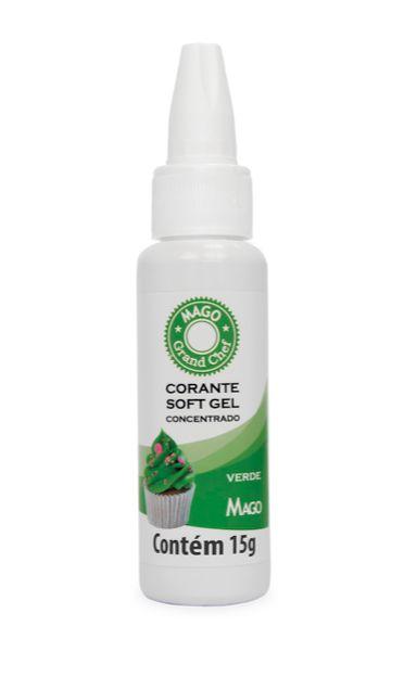 Corante Soft Gel Verde Mago 15g